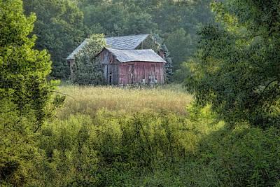 Rustic Barn Poster by Tom Mc Nemar