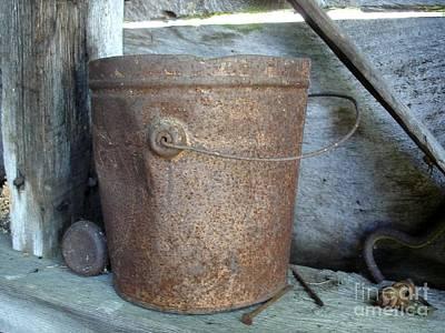 Rusty Bucket Poster