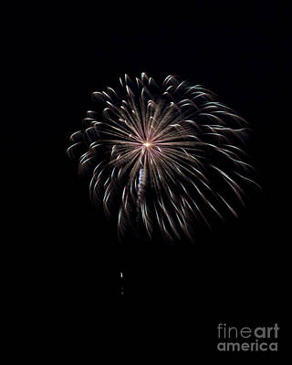Poster featuring the photograph Rvr Fireworks 10 by Mark Dodd