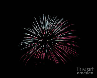 Poster featuring the photograph Rvr Fireworks 15 by Mark Dodd