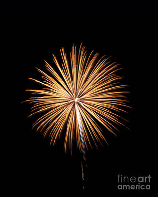 Poster featuring the photograph Rvr Fireworks 27 by Mark Dodd
