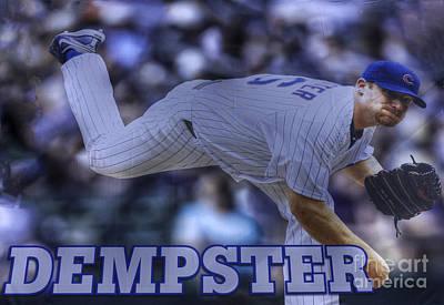 Ryan Dempster Poster by David Bearden