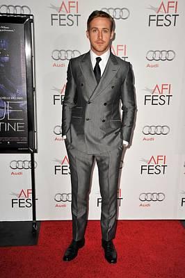 Ryan Gosling At Arrivals For Afi Fest Poster by Everett