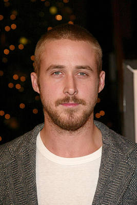 Ryan Gosling At Arrivals For The New Poster