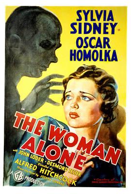 Sabotage, Aka The Woman Alone, Oscar Poster