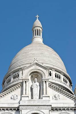 Sacre Coeur Dome Poster