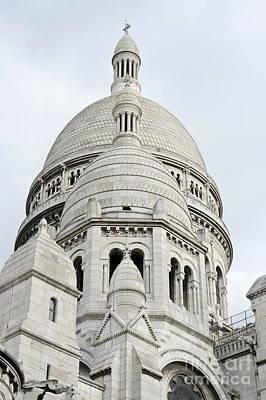 Sacre Coeur Domes Poster by Fabrizio Ruggeri