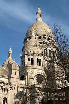 Poster featuring the photograph Sacre Coeur Tower by Kim Wilson