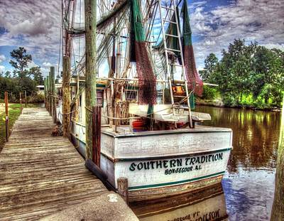 Safe Harbor Southern Tradition Poster by Michael Thomas