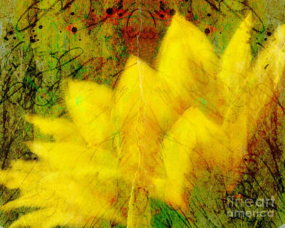 Saffron Dream Poster by Ann Powell