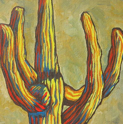 Saguaro 7 Poster by Sandy Tracey