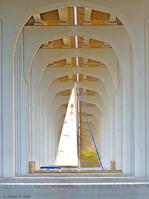 Sailboat Sanctuary Poster