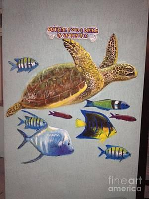 Sailfish Splash Park Mural 10 Poster by Carey Chen