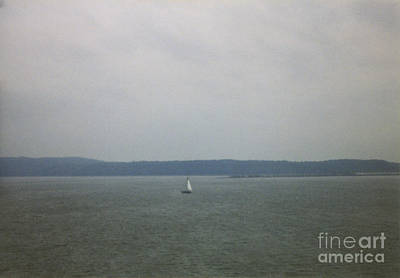 Sailing The Barnegat Poster