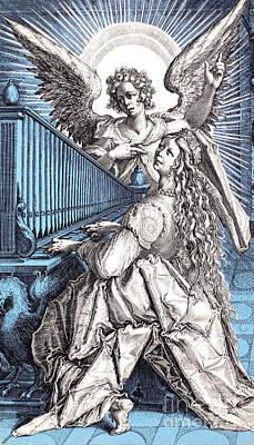 Saint Cecilia (d.230) Poster by Granger