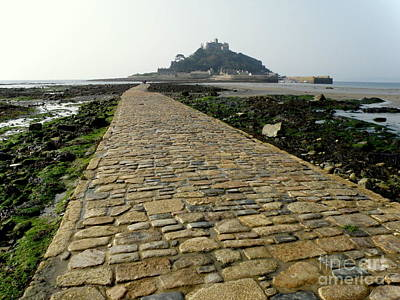 Saint Michael's Mount Poster by Lainie Wrightson