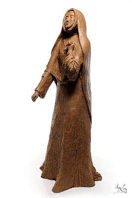 Saint Rose Philippine Duchesne Sculpture Poster by Adam Long