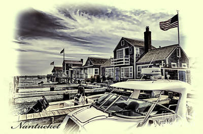 Poster featuring the photograph Salem Street - Nantucket Harbor by Jack Torcello