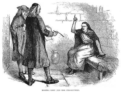 Salem Trials: Martha Corey Poster by Granger