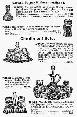 Salt Shakers, 1900 Poster by Granger