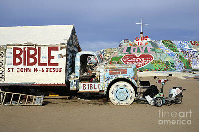 Salvation Mountain California 1 Poster by Bob Christopher