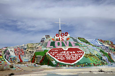Salvation Mountain California 3 Poster by Bob Christopher