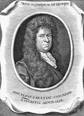 Samuel Pepys (1673-1703) Poster by Granger