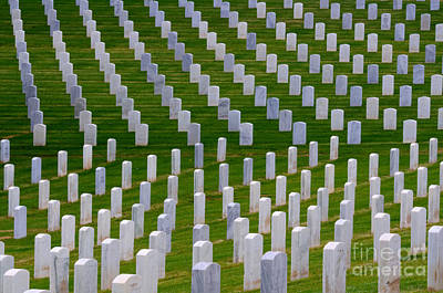 San Diego Military Memorial 1 Poster by Bob Christopher