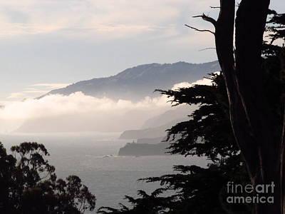 San Francisco Bay Fog Poster