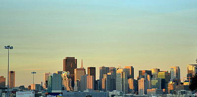 Poster featuring the photograph San Francisco Cityline by Rima Biswas