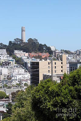 San Francisco Coit Tower Poster