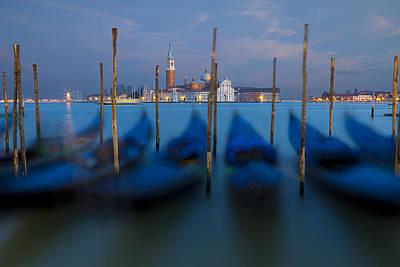 San Giorgio Maggiore With Twilight Sky Poster