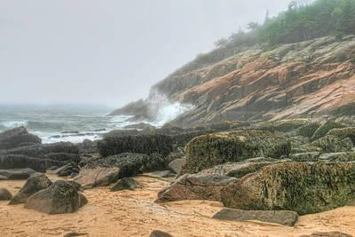Sand Beach - Acadia Poster
