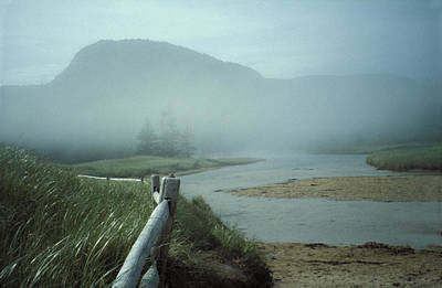 Poster featuring the photograph Sand Beach Fog by Brent L Ander