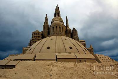 Sand Castle Poster by Sophie Vigneault