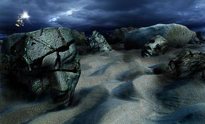 Sands Of Oblivion Poster by Mariusz Zawadzki