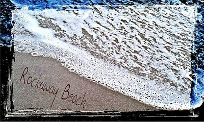 Sandwriting Poster