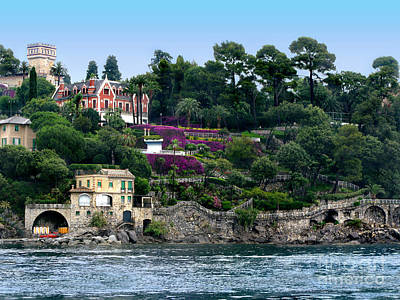 Santa Margherita Ligure.italy Poster by Jennie Breeze