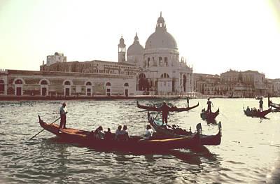 Santa Maria Della Salute Grand Canal Venice Poster by Tom Wurl