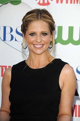 Sarah Michelle Gellar At Arrivals Poster by Everett