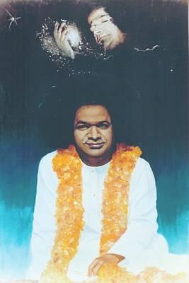Sathya Sai Baba Divine Poster