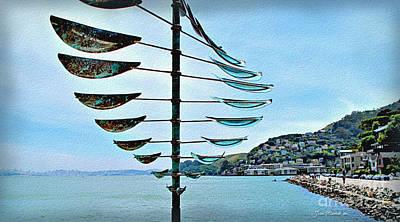 Sausalito Coast Poster by Joan  Minchak