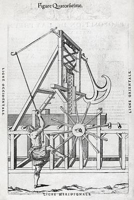 Sawmill, 16th Century Artwork Poster by Middle Temple Library