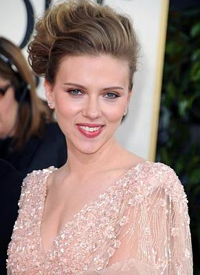 Scarlett Johansson At Arrivals For The Poster