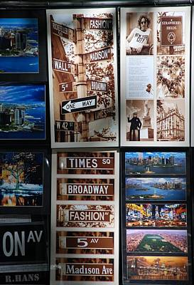 Scenes Of New York Poster by Rob Hans