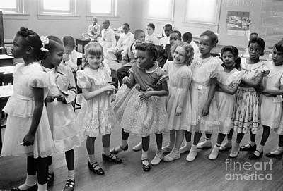 School Desegregation, 1955 Poster