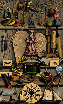 Science In The Nursery, Frontispiece Poster by Photo Researchers