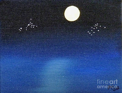 Scorpio And Aquarius Poster by Alys Caviness-Gober