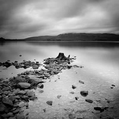 Scotland Loch Lomond Poster by Nina Papiorek