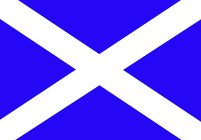 Scottish Flag Poster